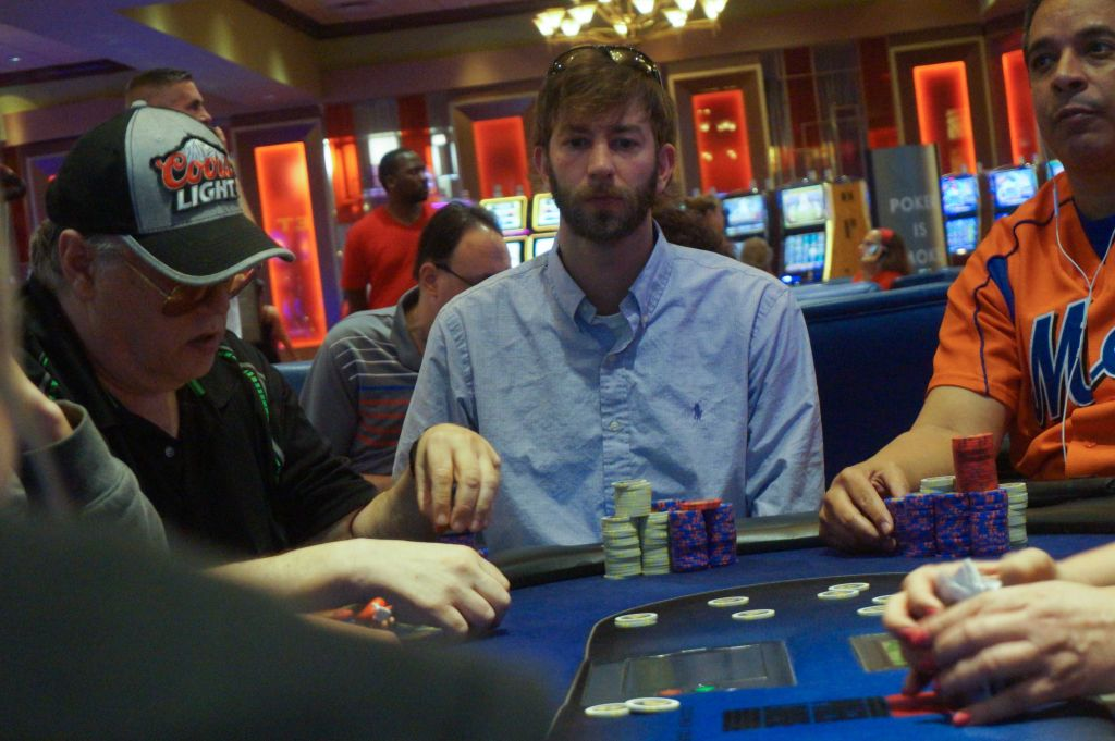 Michael Rizzuto, 3rd place ($35,414)